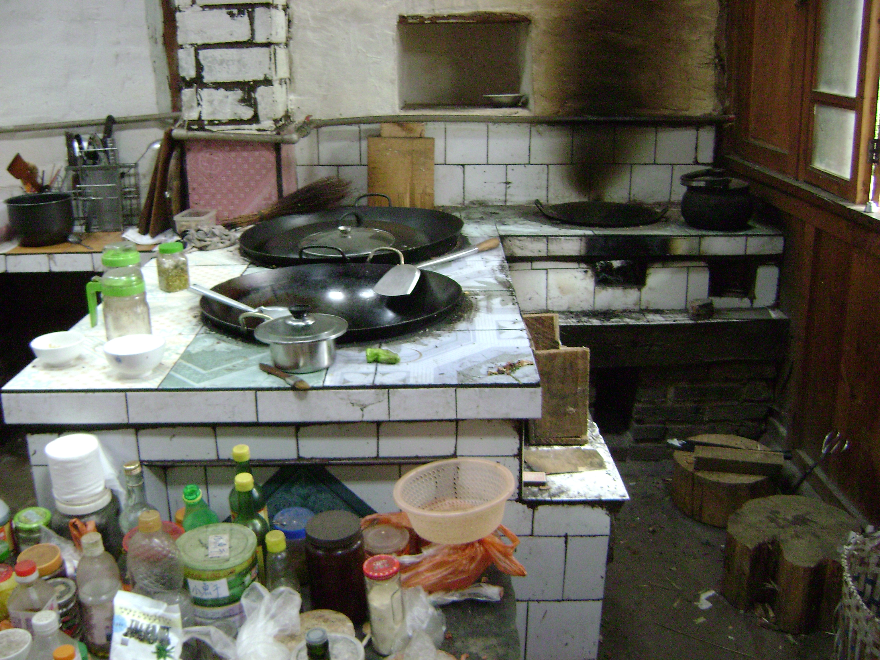 Another Look Inside A Chinese Kitchen.