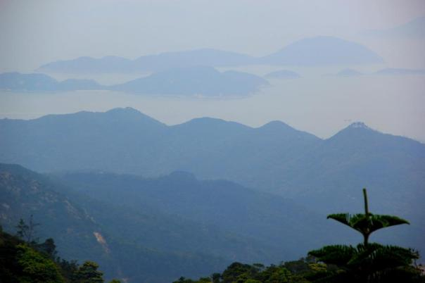 The view from Lantau Island, Hong Kong.  Photo by Evan Schneider.