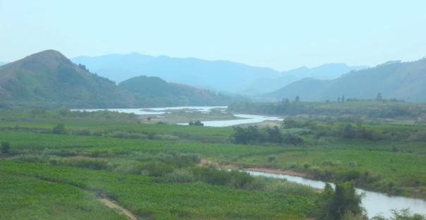 Guangxi countryside.  I took this one from the train!