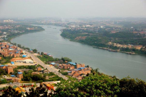 Yong River. Guangxi, Nanning.