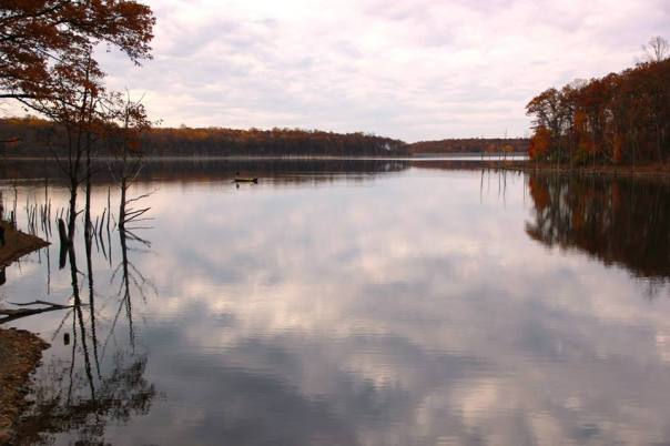 Merrill Creek Reservoir.  Photo by Evan Schneider.