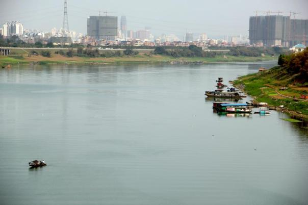 The Yong River.  Nanning, China.  Photo by Evan Schneider.
