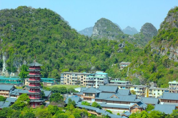 Beautiful Guilin.  Photo by Evan Schneider.