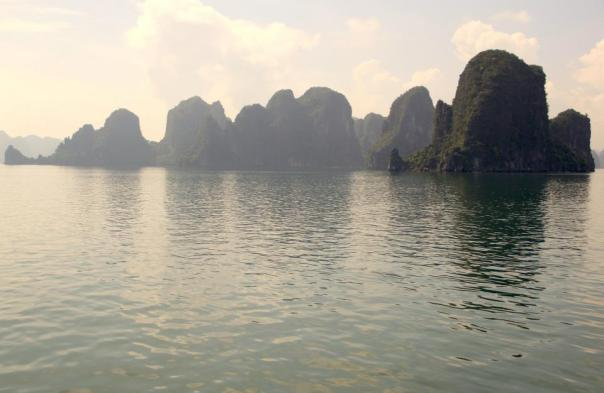 Still can't believe I've been here.  Twice.  Halong Bay, Vietnam.  Photo by Evan Schneider.