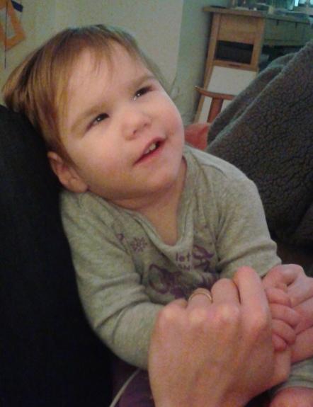 Lucia smiles
